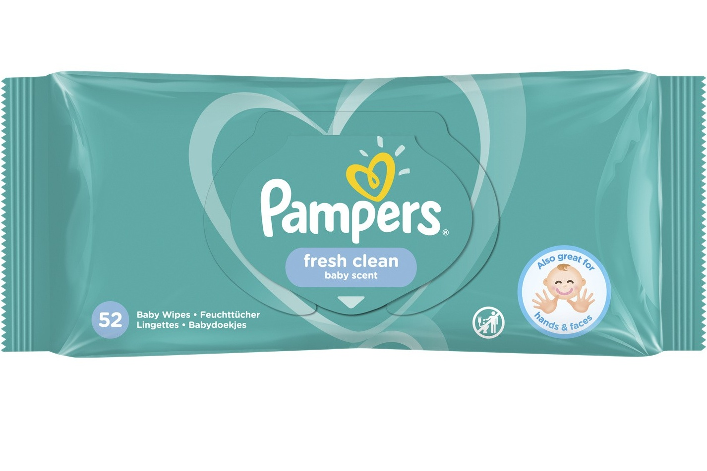 lingettes pampers fresh clean