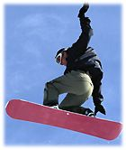 Ski surf monoski télémark